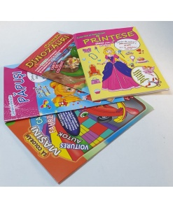 Omnibooks - Carte de colorat cu poster