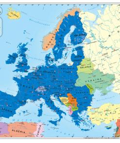 Aquila - Harta Europa