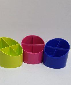 Herlitz - Suport birou 4 compartimente plastic