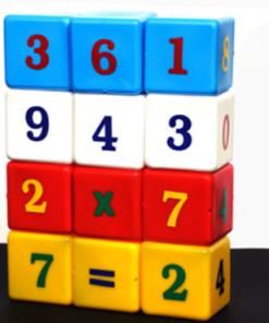 Juno - Joc Educativ Cuburi cu cifre