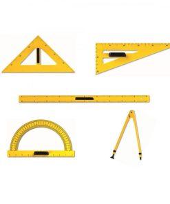 instrumente geometrie tabla