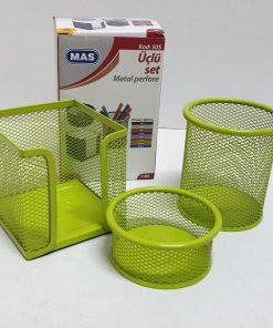 Mas - Set suport birou metalic