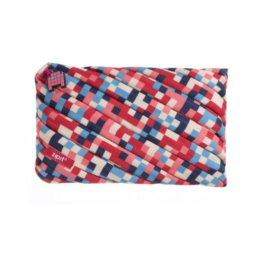 ZipIt - Penar Pixel Jumbo roșu