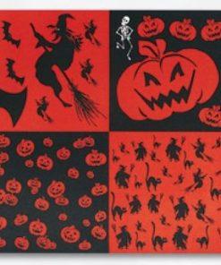 Carton motiv Halloween 50x70cm
