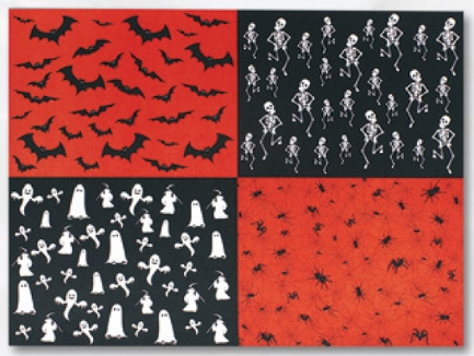 Carton motiv Halloween 25x35cm