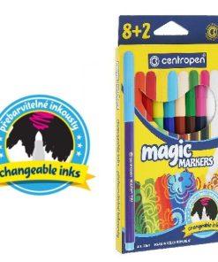 Centropen Set 8+2 Magic Markers