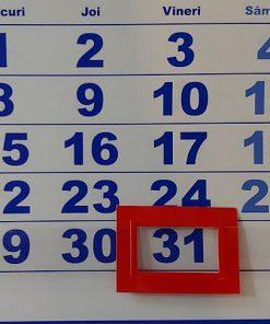 Cursor Calendar de perete