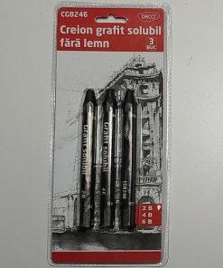 Daco Creion Grafit Solubil set 3 bucăți CG8246