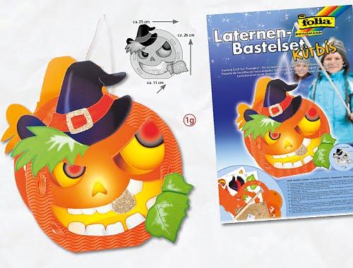 Kit pentru lampion motiv Halloween