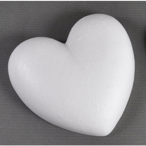 Meyco Inimă polistiren 9 cm