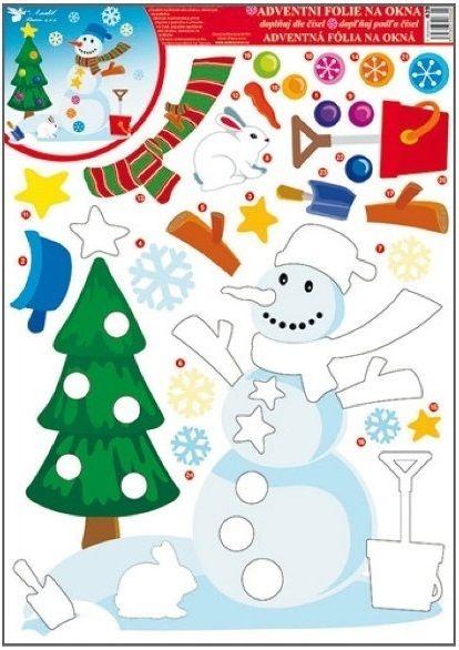 Autocolant pentru geam - Crăciun Nr. 439-02