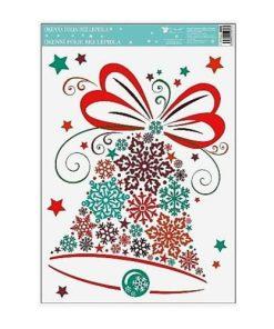 Autocolant pentru geam - Crăciun Nr. 445 Clopoțel