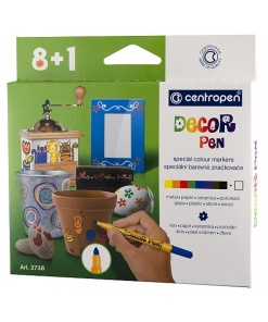 Centropen Marker Decor set 8+1