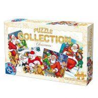 D-Toys Puzzle Crăciun set 4 Nr.67340-02