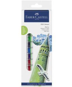 Faber Castell Culori ulei set 12