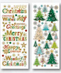 Folia Abțibild Motive Crăciun nr. 1332