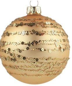 Glob Sticlă set 6 buc auriu Art 3497