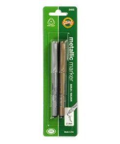 Koh-I-Noor Marker Metalic set 2 buc