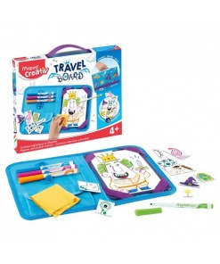 Maped Creativ Travel Board Cavaleri și Prințese 969311