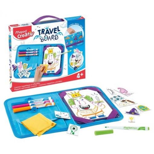 Maped Creativ Travel Board Cavaleri și Prințese 969311