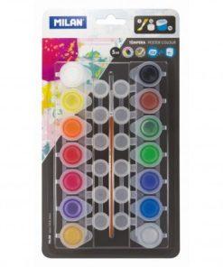Milan Culori guașe set 14 culori