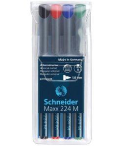 Schneider Marker universal OHP set 4 Maxx 224 M