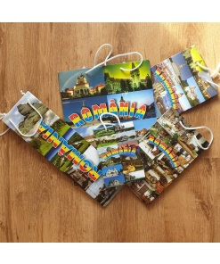 Pungă cadou România cu imagini speciale