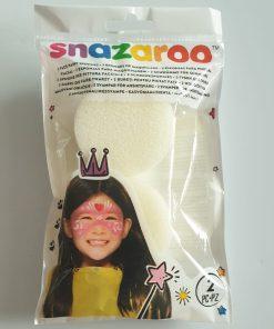 Snazaroo set 2 bureți pictură pe față