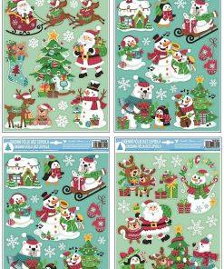 Autocolant pentru geam - Crăciun Nr. 10330
