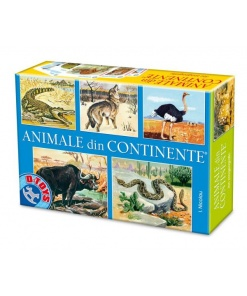 D-Toys - Animale din Continente Nr. 71750