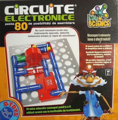 D-Toys Circuite Electronice 80 posibilități 76137
