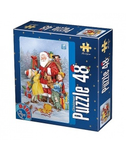 D-Toys Puzzle Crăciun 48 piese Nr.75574-01