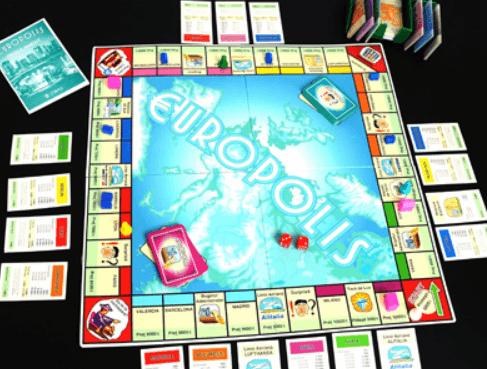 Juno - Joc de tranzacții imobiliare Europolis