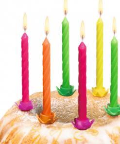 Susy Card - Lumânări cu suport 4 culori