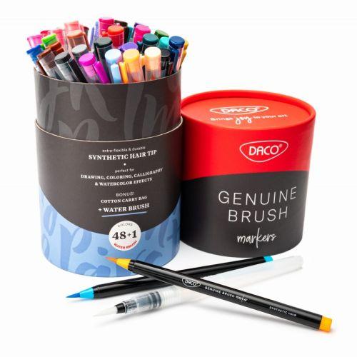 Daco Genuine Brush Markers 48+1 CA648 — Multimasimex