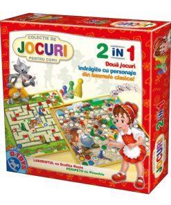 D-Toys - Jocuri Clasice 2 in 1 60785