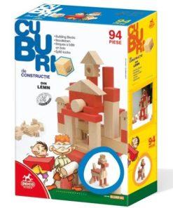 Deico Cuburi Constructie din lemn 94 piese 61249