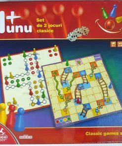 Deico - Set 2 Jocuri Clasice 1+1 50434