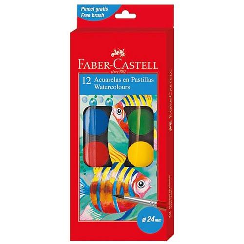 Faber Castell Acuarele cu pensula set 12