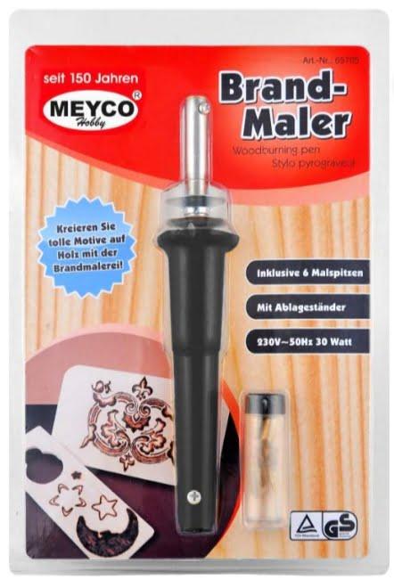 Meyco Aparat Pirogravura cu 6 capete 65705