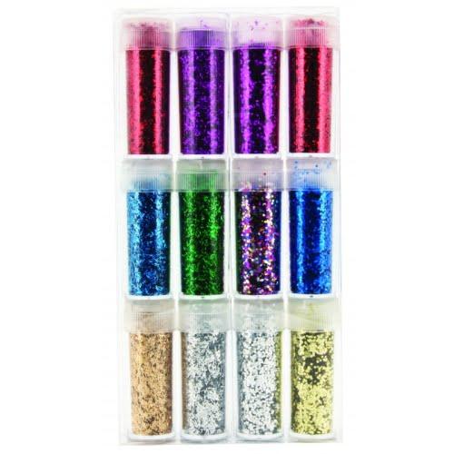 Junior Set Glitter 12 culori U964