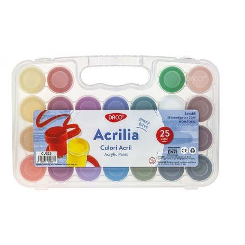 Daco Culori acrilice set 25 CU325
