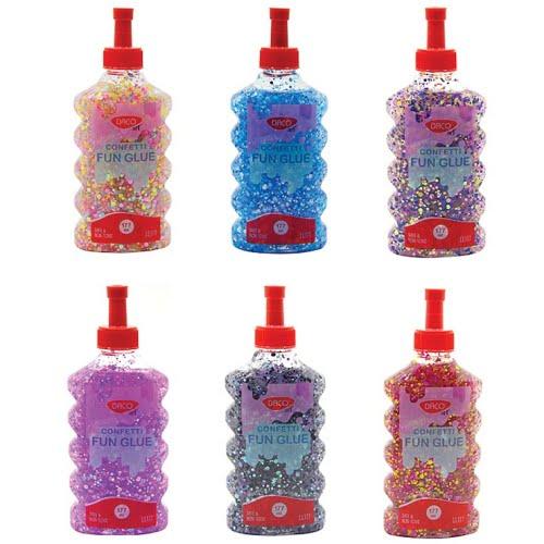 Daco Lipici Lichid Confetti 177ml diverse culori