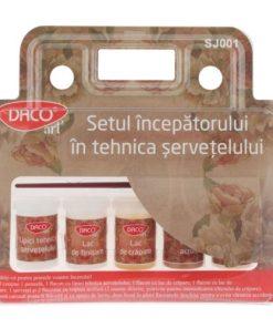 Daco Setul incepatorului in Tehnica Servetelului SJ001