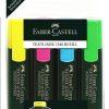 Faber-Castell – Set Textmarker 1548 4 culori 154804