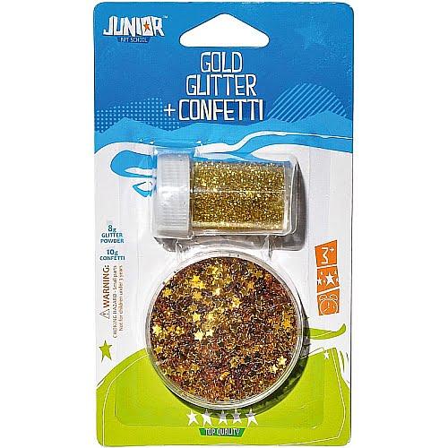 Junior Set Glitter & Confetti Auriu 137890