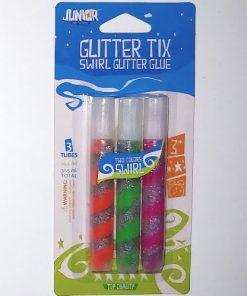 Junior Set Lipici Glitter spirala 3 culori 131155