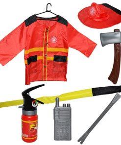 Roben Costum Pompier + accesorii 7 piese