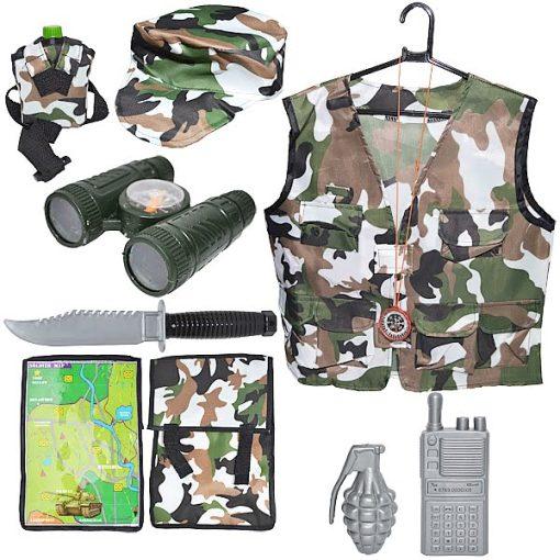 Roben Costum Soldat + accesorii 9 piese