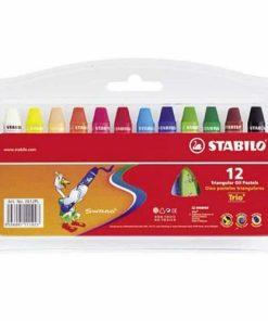 Stabilo Creioane Cerate Oil Pastels set 12